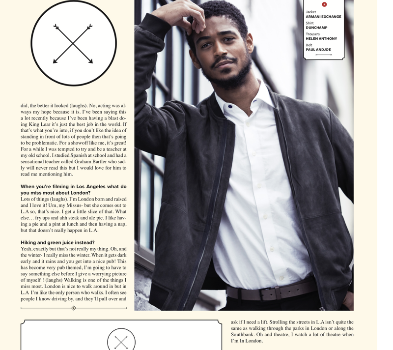 Alfred Enoch Feature Interview