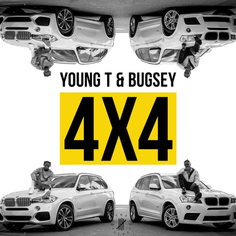 Young T & Bugsey - 4x4 Cover Art Photography
