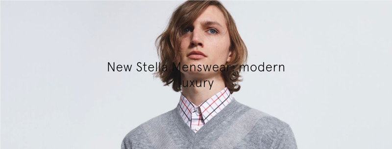 Stella Menswear Modern Luxury