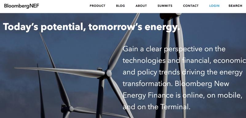 Bloomberg NEF Redesign