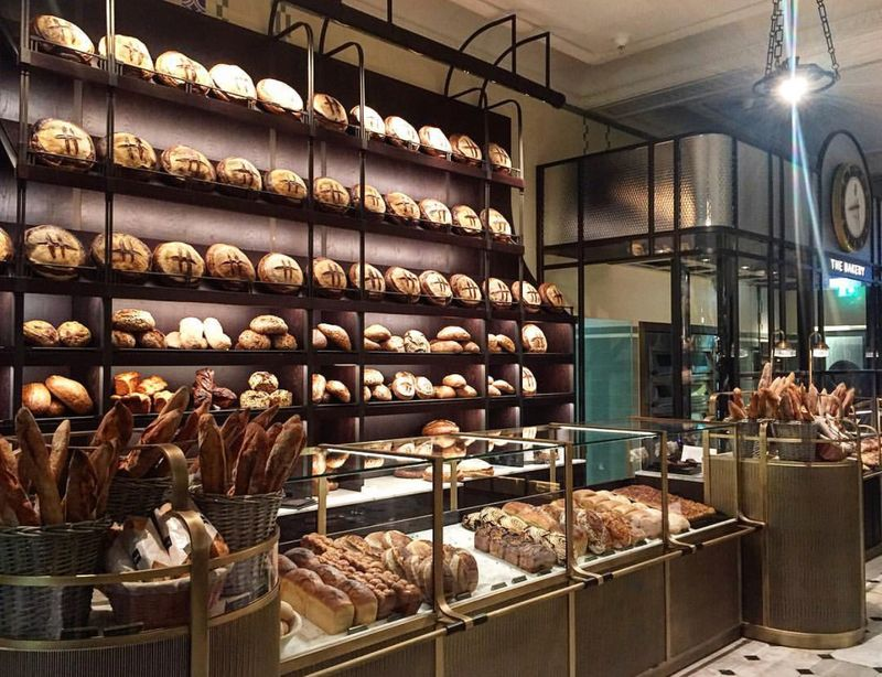 Harrods Roastery and Bake Hall launch campaign