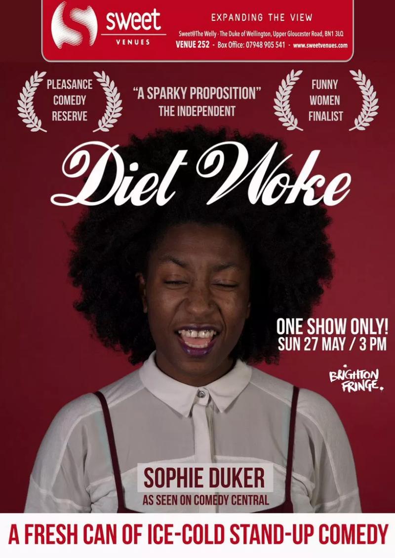 Diet Woke, Brighton Fringe 2018