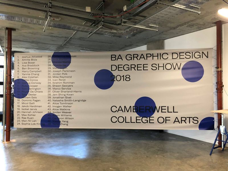 BA Graphic Design 2018