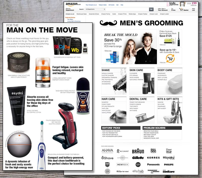Men's Grooming Category Launch - Amazon.co.uk