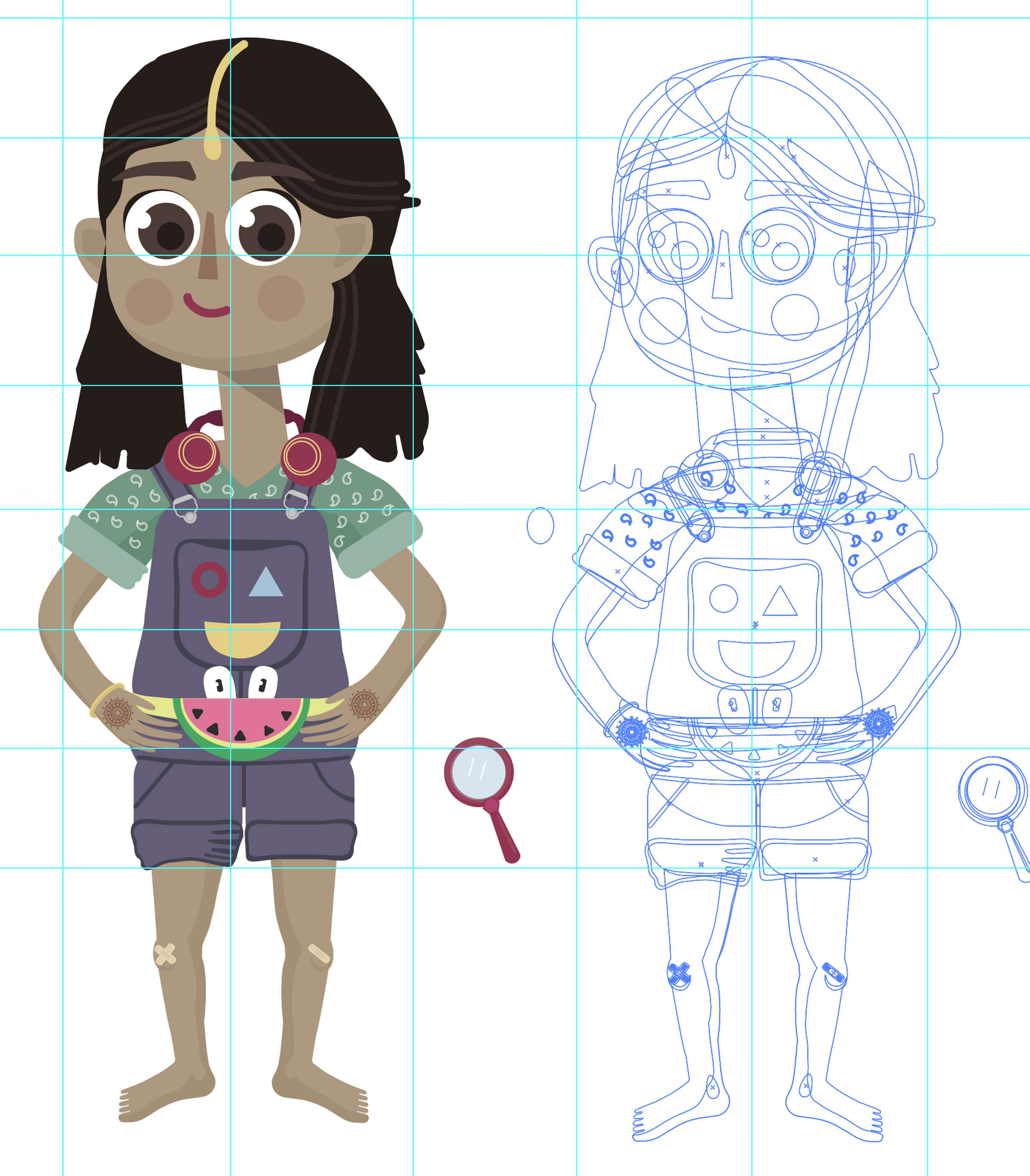 Character design | The Dots