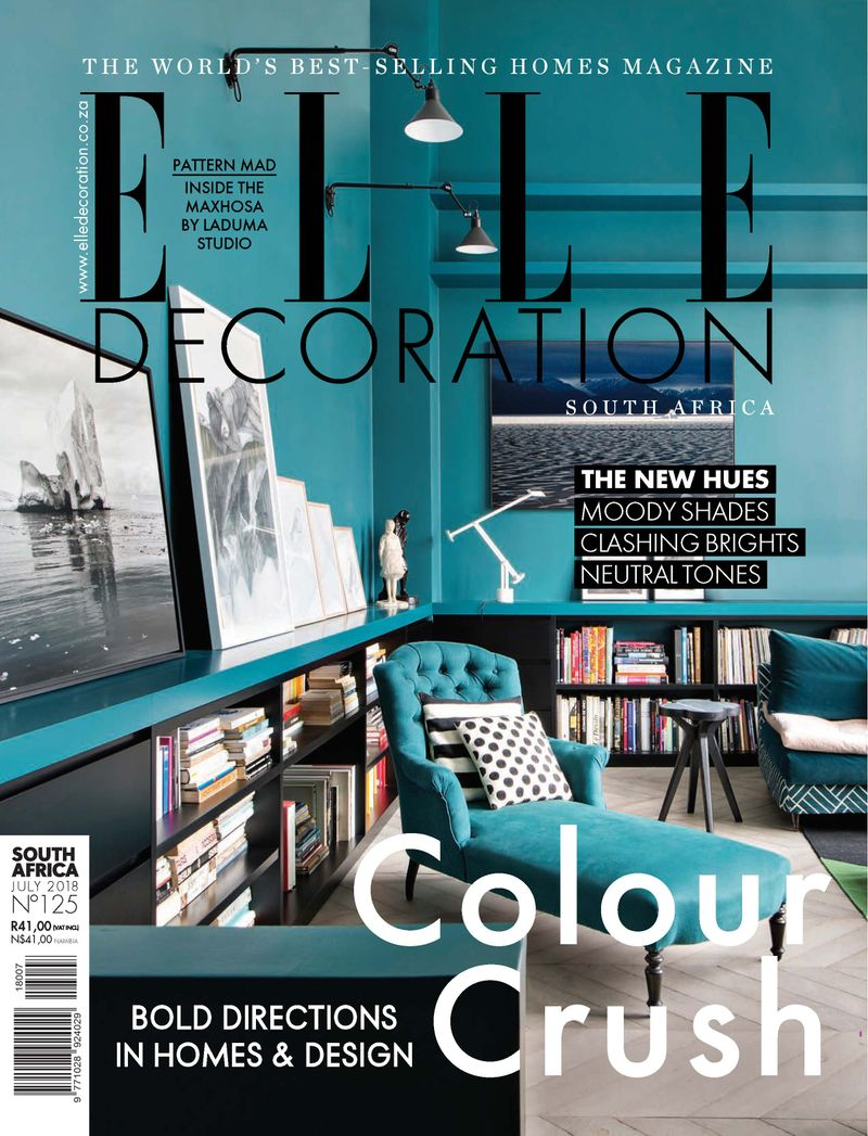 AFRICA BY DESIGN | Elle Decor South Africa, July 2018