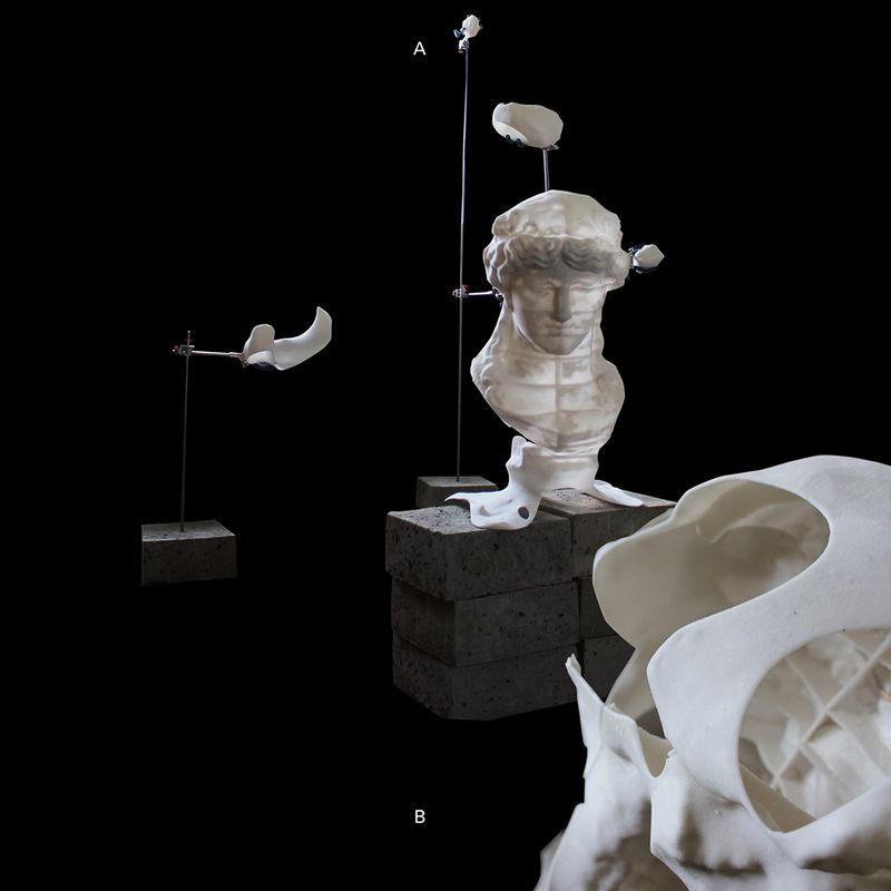 Sculpture Piracy / LES DEBRIS NUMÉRIQUE / RCA Final Show / 2017