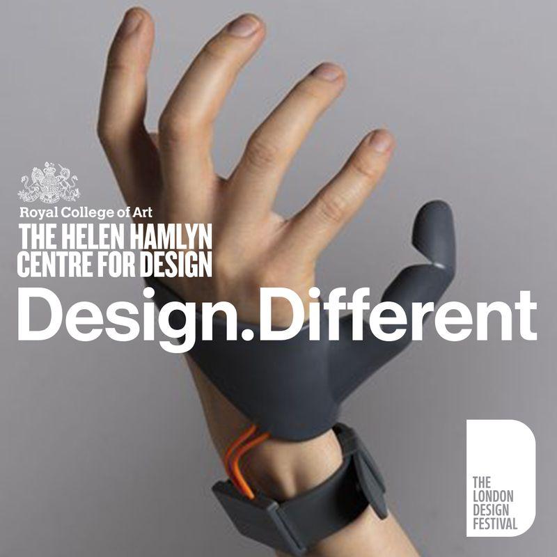 Design Different / Royal College of Art / Helen Hamlyn Centre for Design / 2017