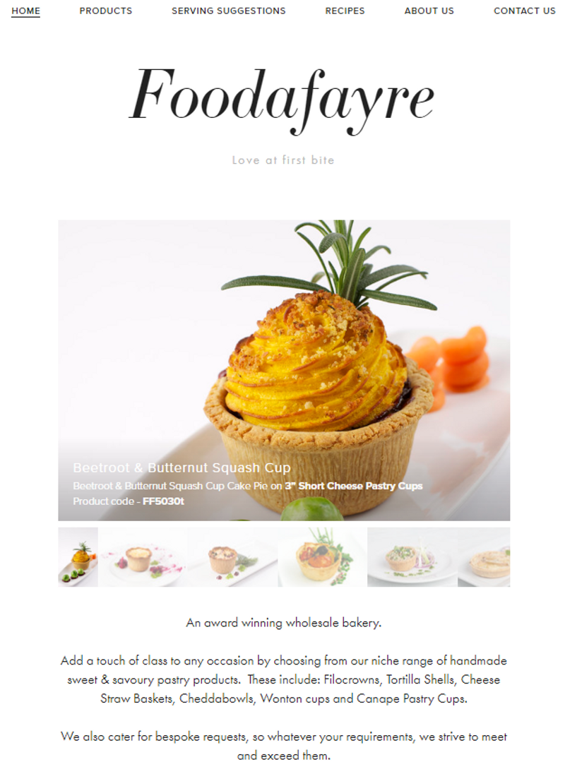 Freelance work - Copywriting & Website Design