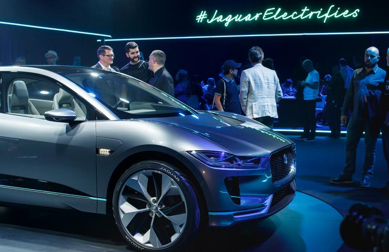 Jaguar I-Pace Launch - 2018