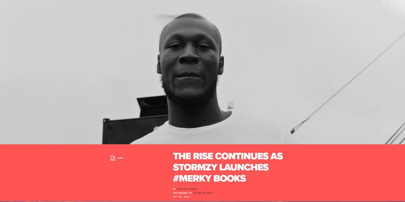 Feature: Stormzy's #Merky Books Venture with Penguin Random House for Nation of Billions