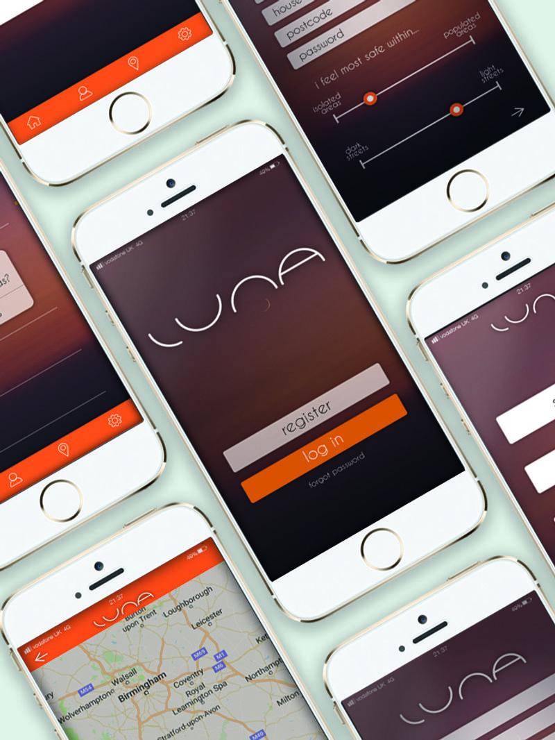 Luna - Safe Travel App