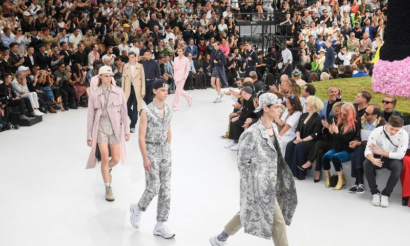 Dior  SS19 Mens Wear Front Row