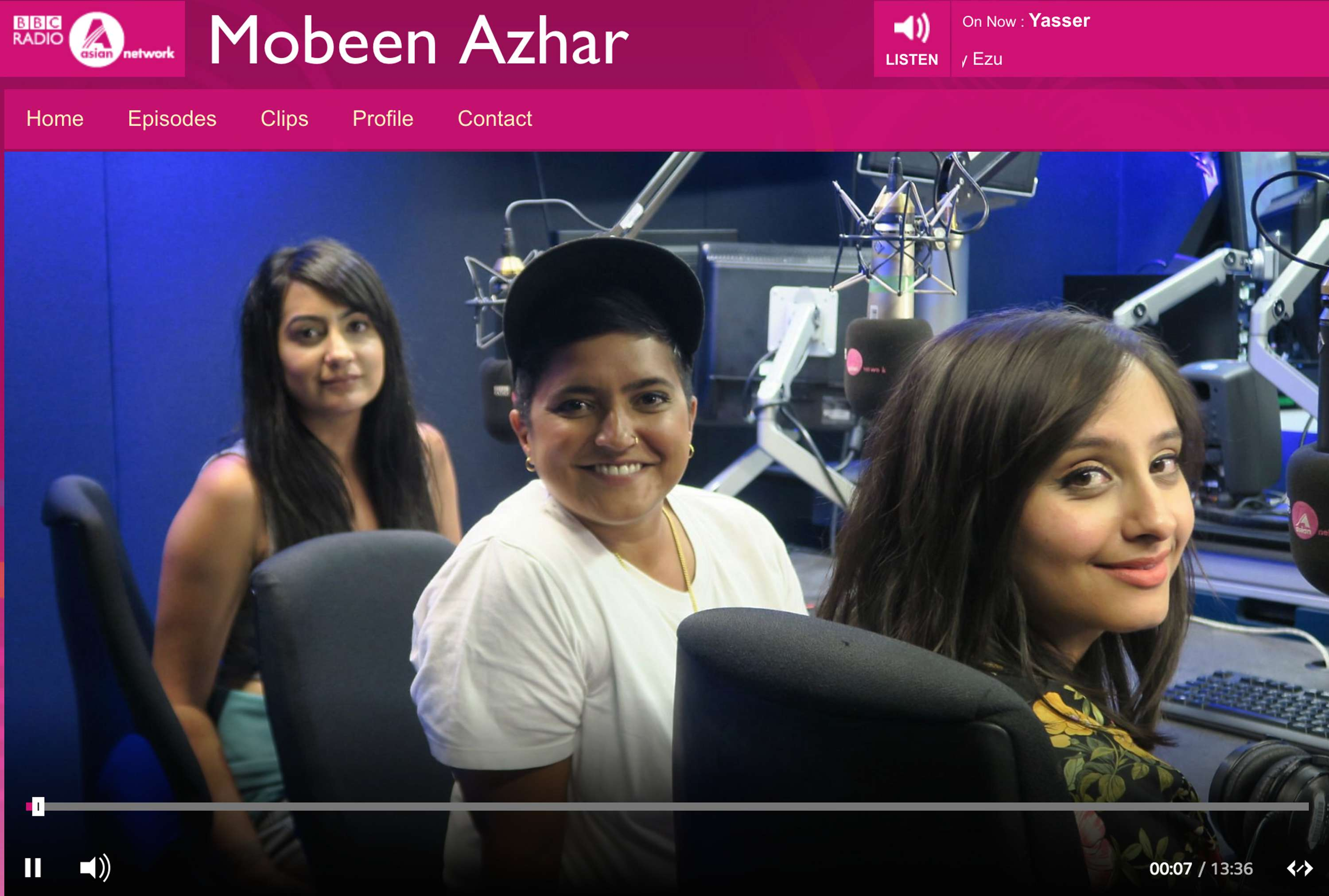 Create new list with BBC Asian Network - The Female Orgasm