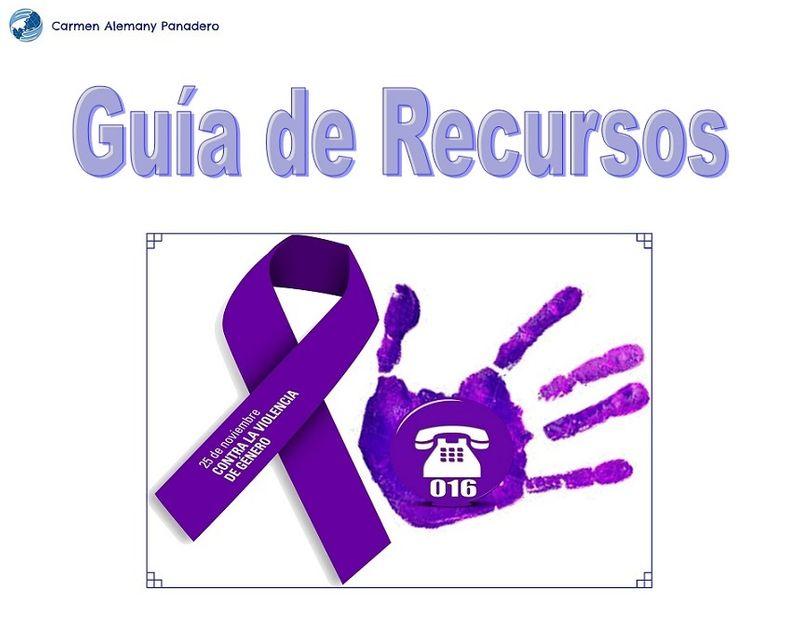Violencia de Género - Guía de Recursos