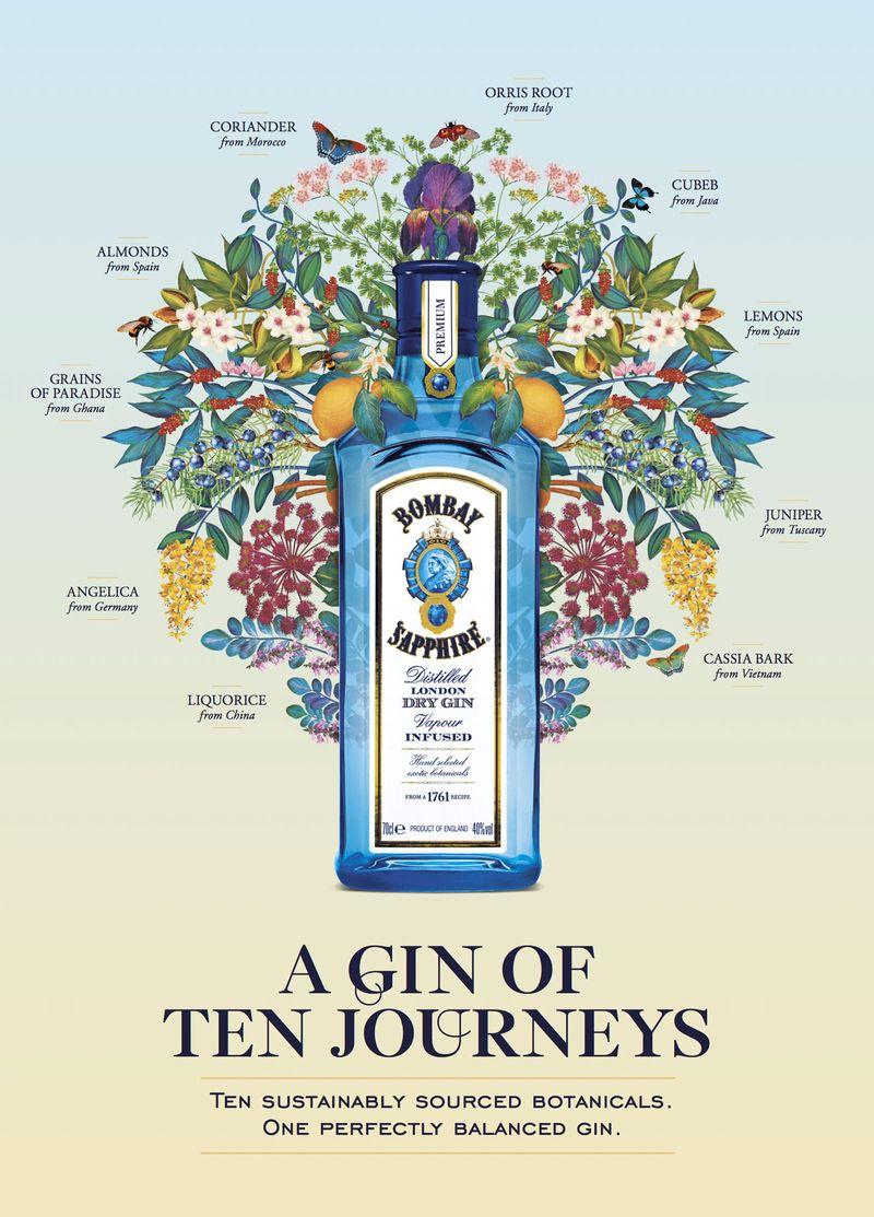 The Gin Of Ten Journeys