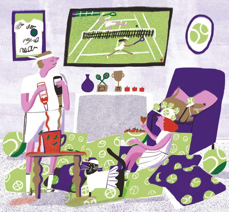Wimbledon x The Telegraph