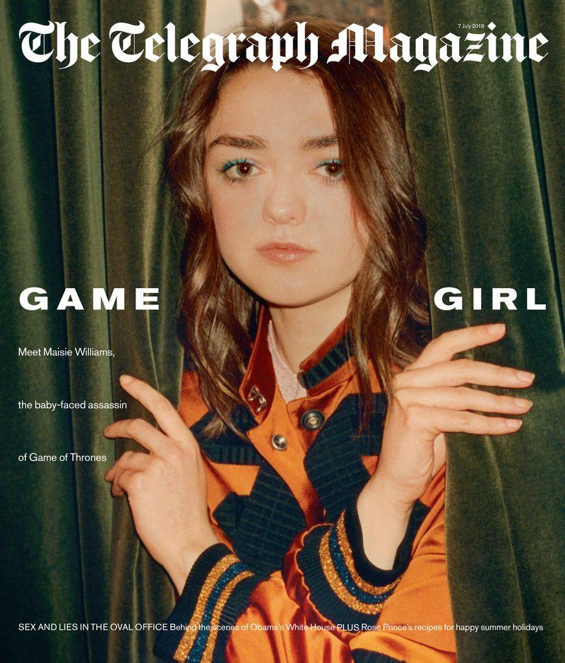 Telegraph Magazine x Maisie Williams x Tom Craig
