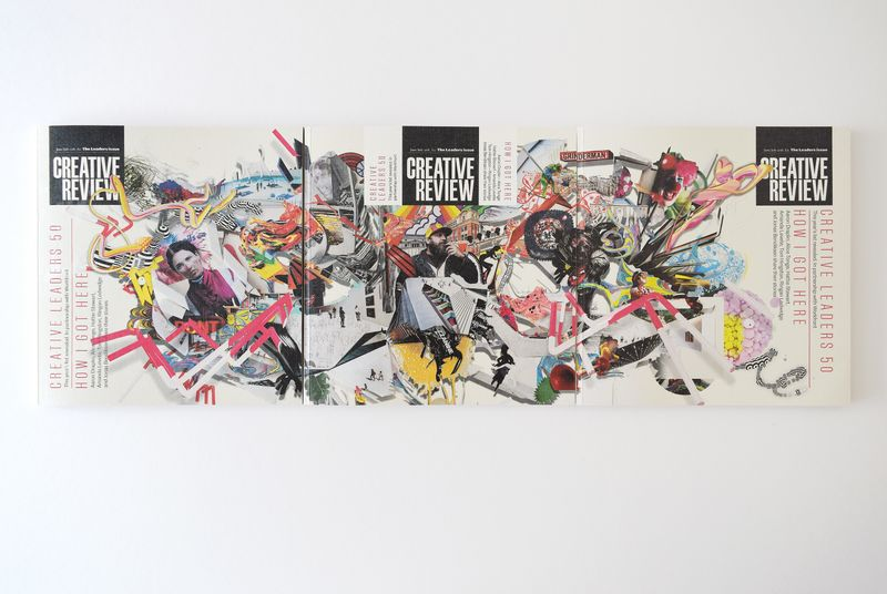 James Dawe designs cover for Creative Review