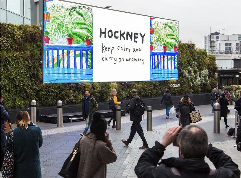 Hockney: 60 Years of Work