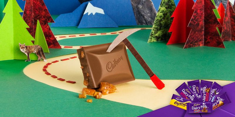 Cadbury Flavours Campaign