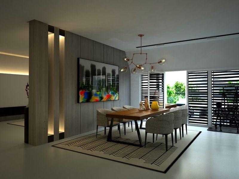 Modern Kitchen Architectural Rendering Services Dallas