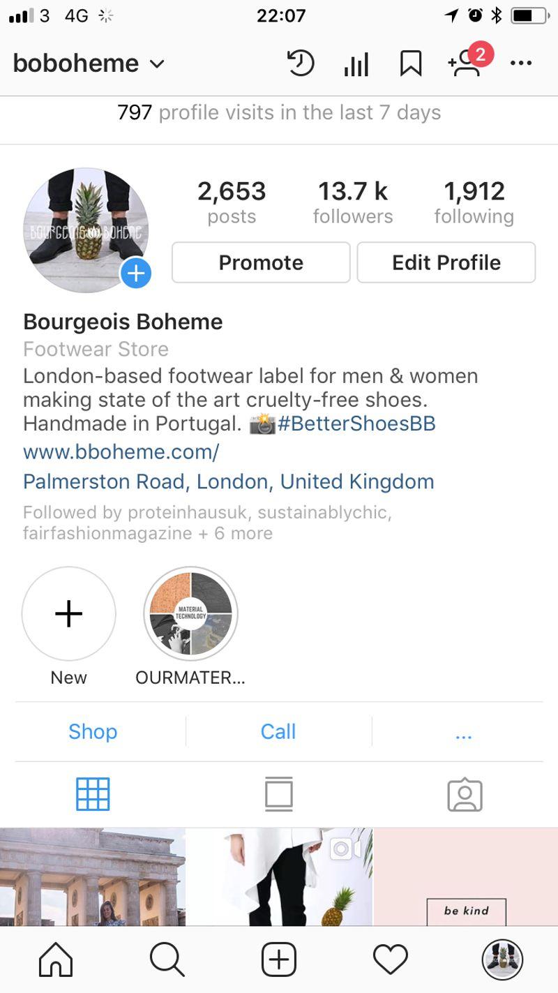 Bourgeois Boheme Social Media Strategy
