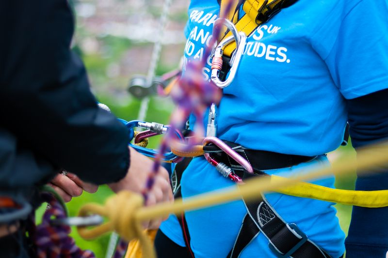 Parkinson's UK - Charity Event - Guildford Cathedral Abseil