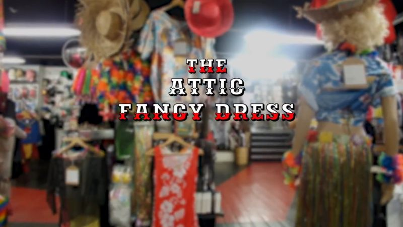The Attic fancy dress Advert