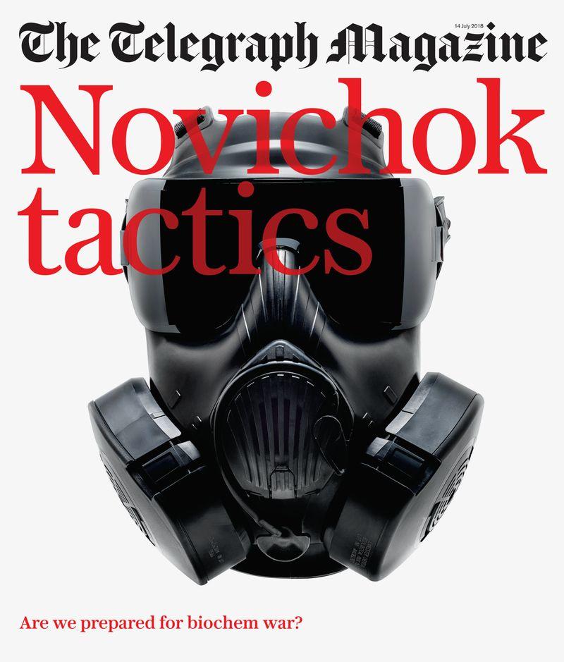 Telegraph Magazine x Benedict Redgrove x Gas Mask Factory
