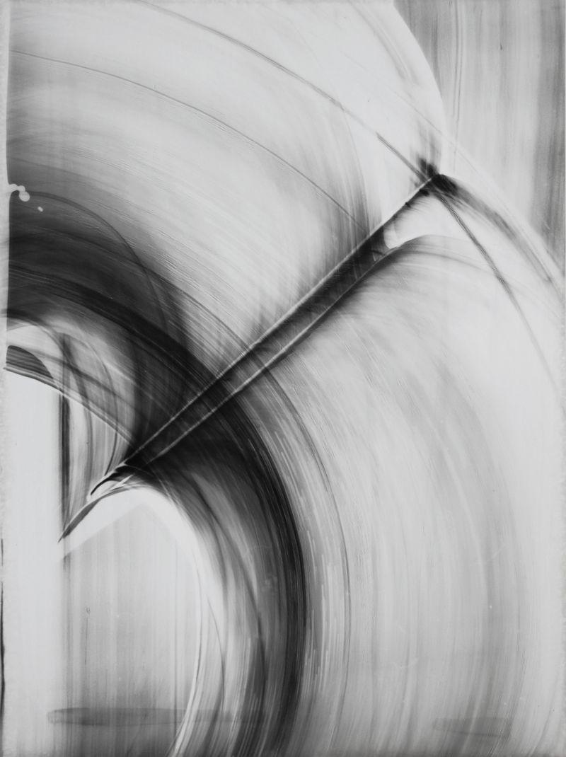 Blindlight 15, unique photogram, 40 x 30cm, 2015