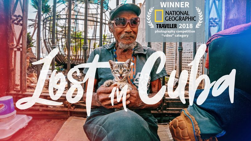 Lost in Cuba (1st Prize winner National Geographic Traveller 2018 competition)