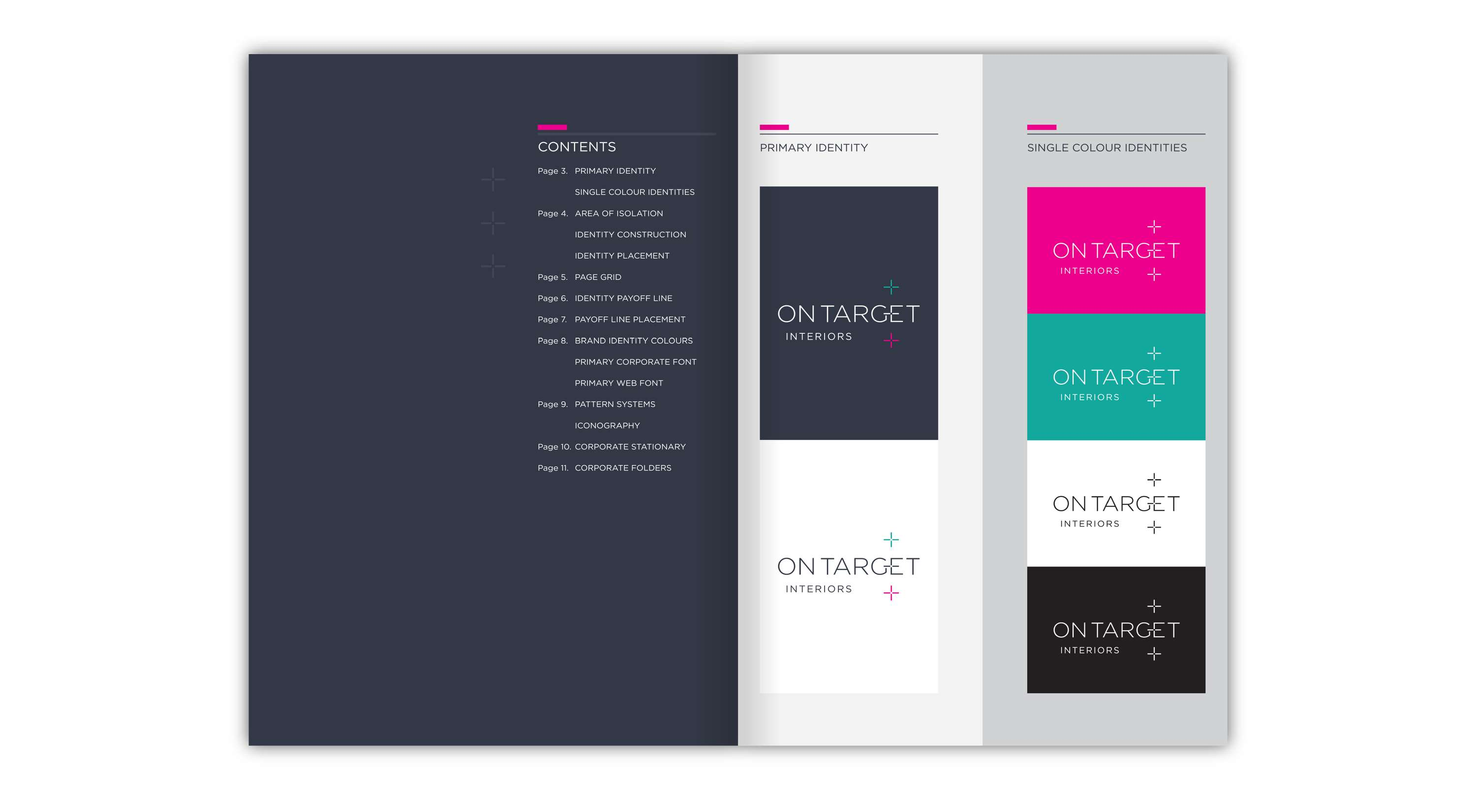Ontarget Interiors Identity | The Dots