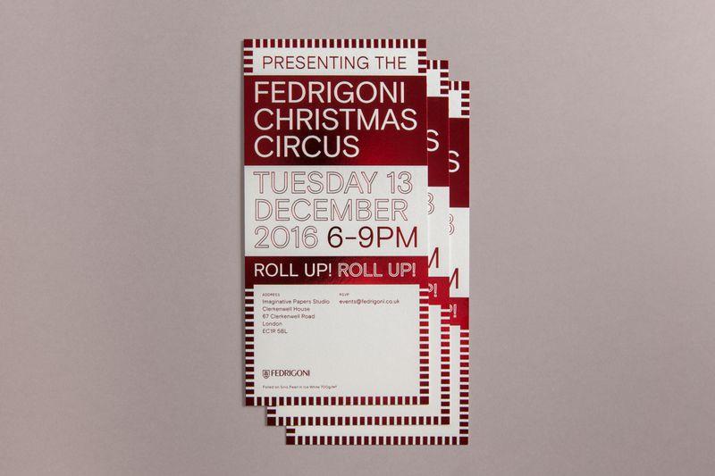 Fedrigoni – Christmas Invitations