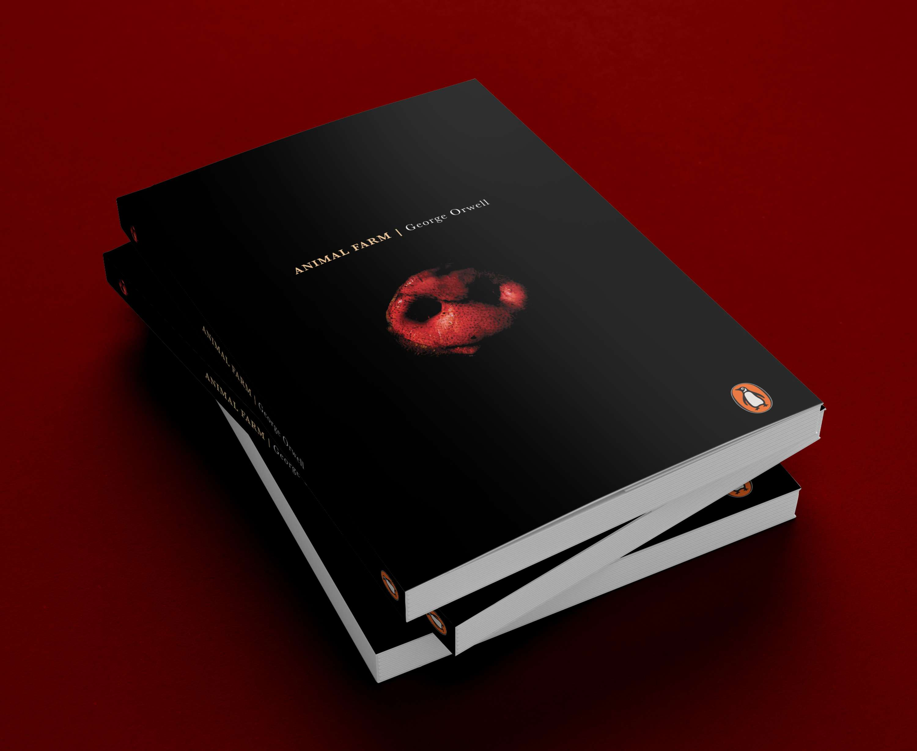 Animal Farm Book Cover Redesign 2018 The Dots