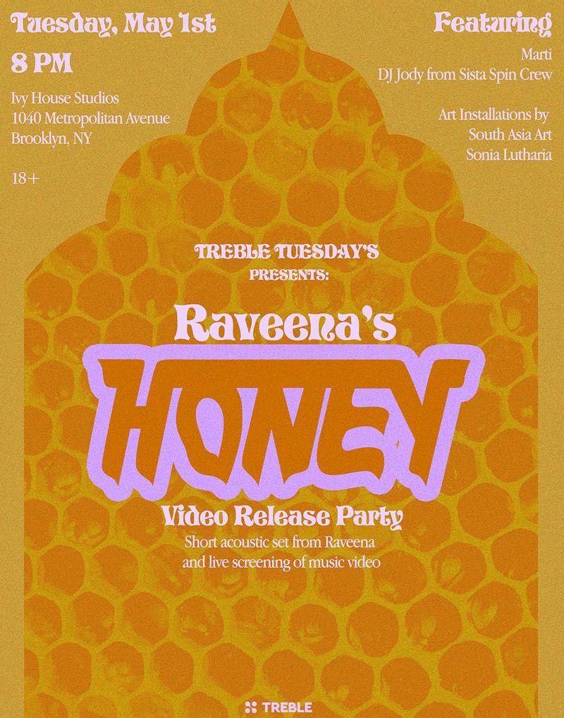 Raveena Aurora Honey Video Release Poster