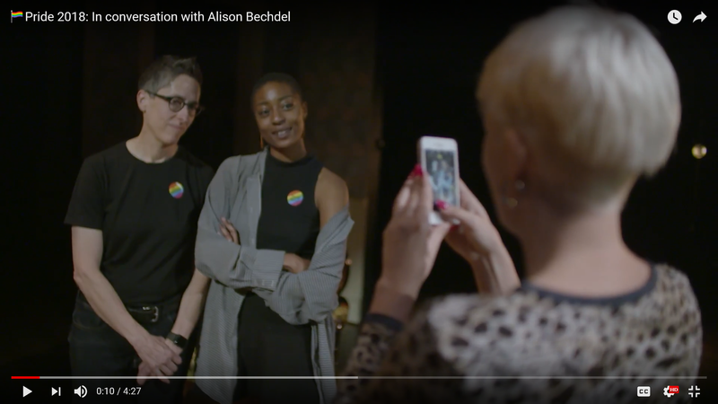 Pride 2018: In conversation with Alison Bechdel at the Young Vic