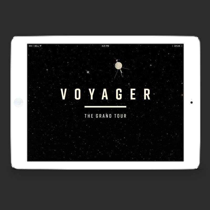 Voyager  |  The Grand Tour   (ePublication)