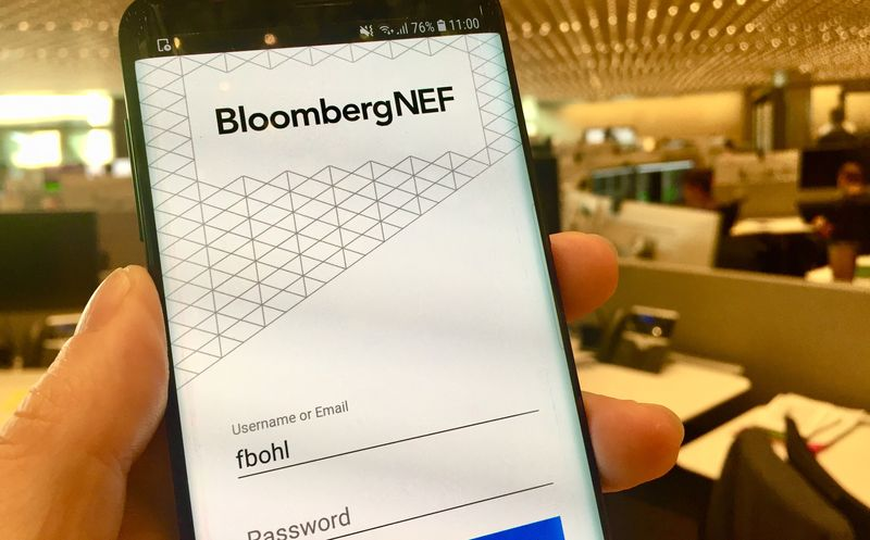 Product vision for Bloomberg NEF