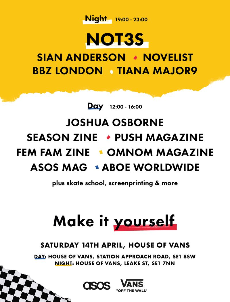 House Of Vans x ASOS - Make it yourself