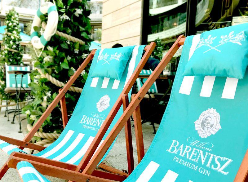 Aubaine x Willem Barentsz Summer Terrace