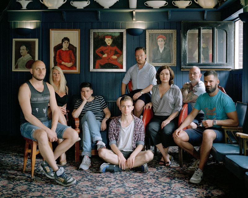 Pubs of East London - family portraits of bar staff behind legendary watering holes in East London