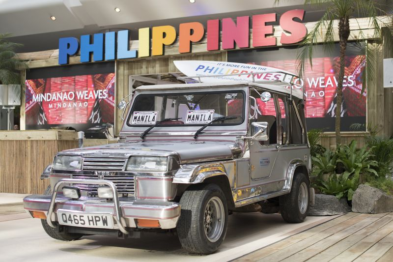 Philippine Tourism - Westfield Activation