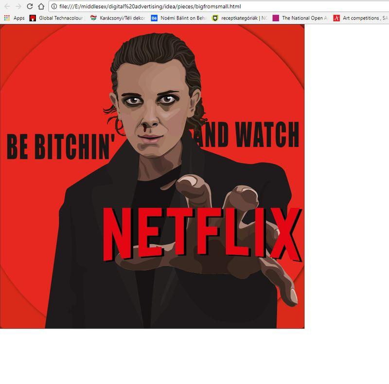 Digital Advertising - Netflix - Stranger Things