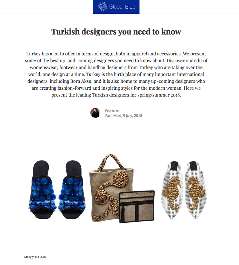 Turkish Designer to discover - globalblue.com