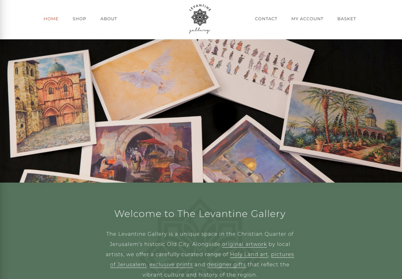 Positioning and marketing strategy for the Levantine Gallery