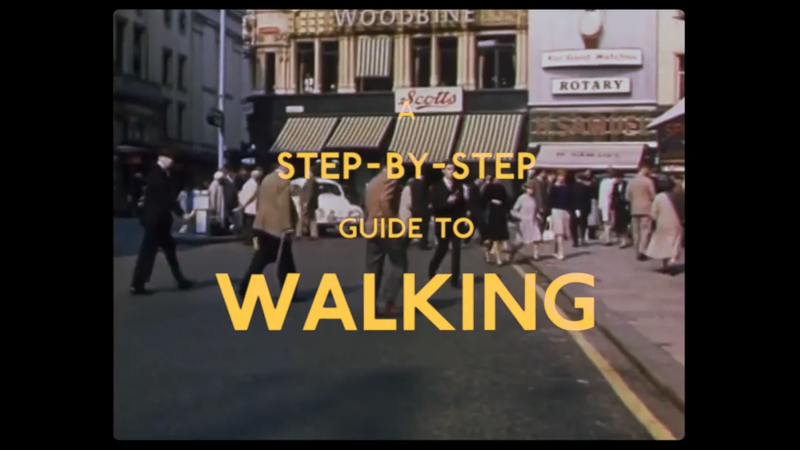 A Step by Step Guide to Walking