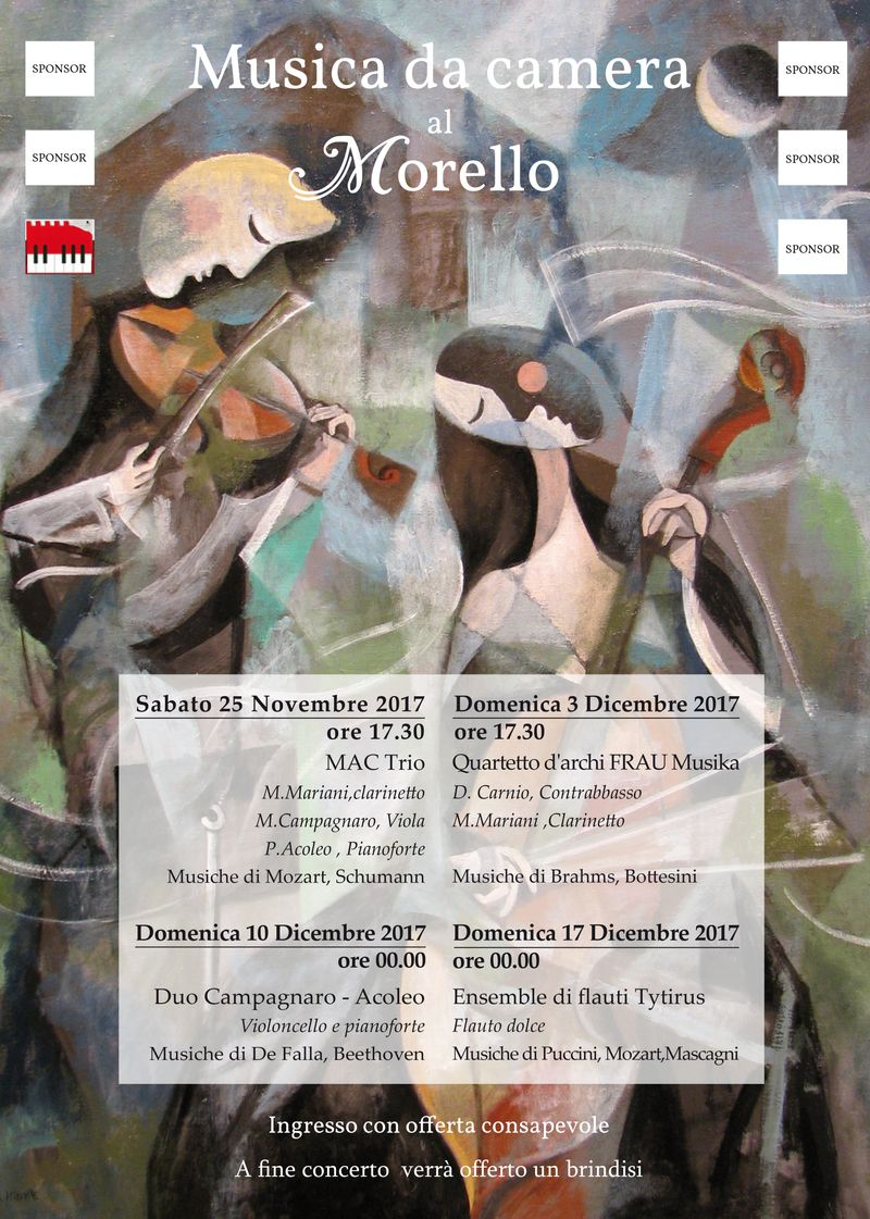 Poster music school Morello