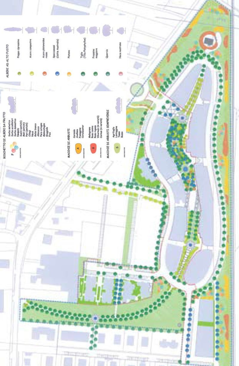 "Urban analysis ""Eco quartiere mediterraneo"""