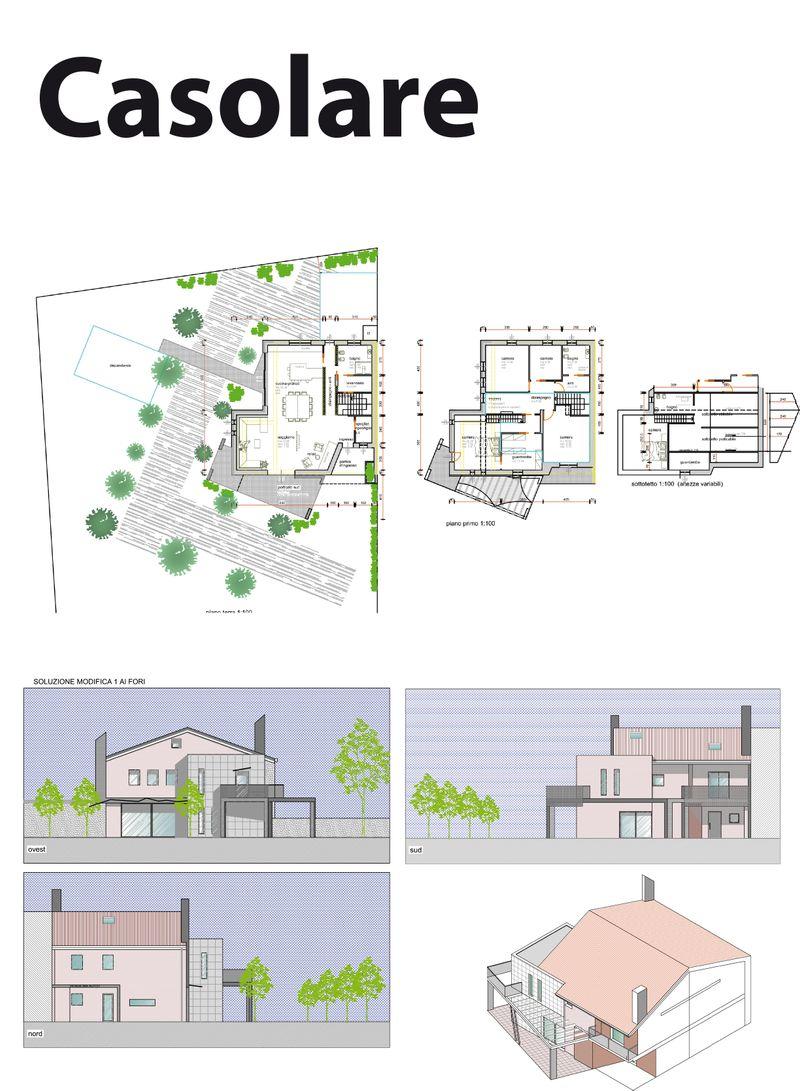 Rendering farmhouse